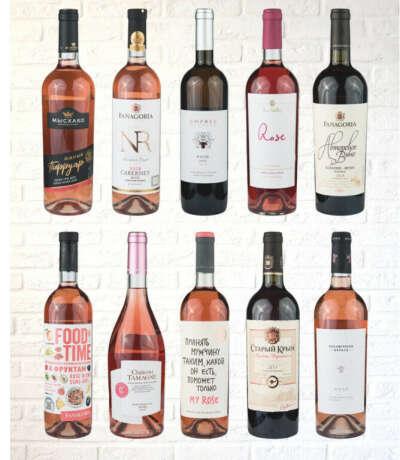 Розовое сухое вино