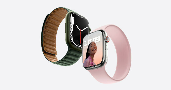 Apple watch Titanium Case with Leather Link