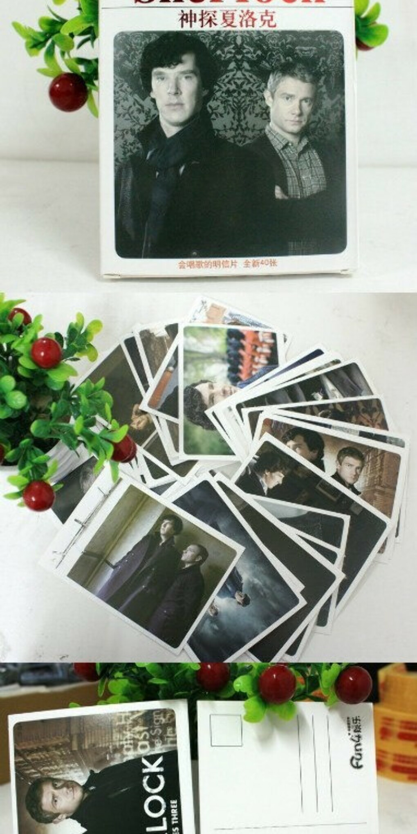 Набор открыток Шерлок