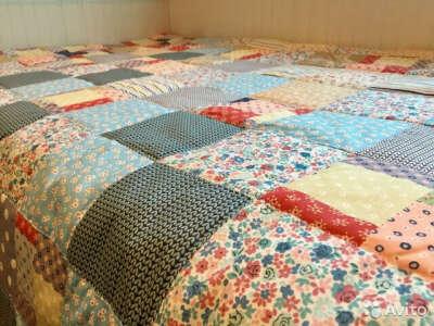 Сшить лоскутное одеяло