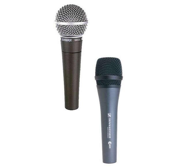 Динамический микрофон (SHURE SM58 / SENNHEISER E845 /........)