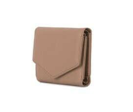 Небольшой кошелек для купюр, карт и монет в цвете сандрифт