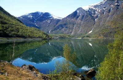 Я отправляюсь путешествовать в Норвегию