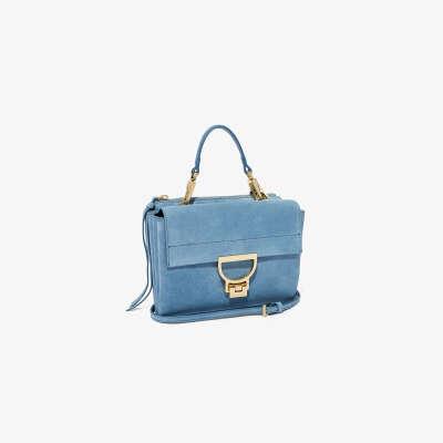 сумка цвет голубой, темно синий или нежно сиреневый