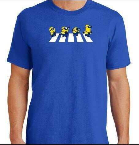 Minions Abbey Road T-Shirt