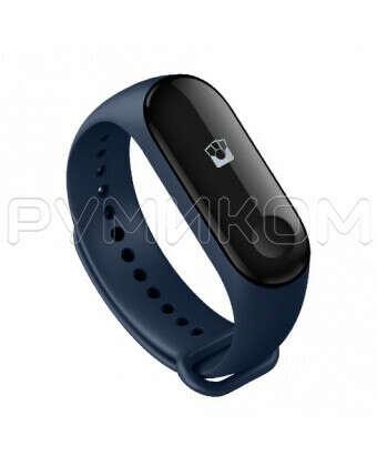 Фитнес-браслет Xiaomi Mi Band 3 с поддержкой NFC (синий): цена в интернет-магазинеРумиком в Москве, характеристики, фото