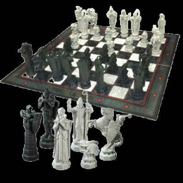 Wizard Chess Set - Harry Potter / Набор волшебных шахмат - Гарри Поттер