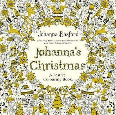 Johanna's Christmas : A Festive Colouring Book