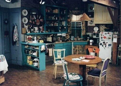 кухню как у Друзей