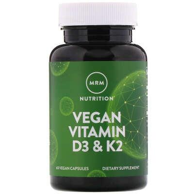 Витамины D3 и К2 (vegan)
