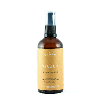 Ароматическое масло для тела «Сицилия»