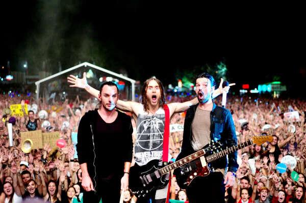 На концерт 30 Seconds to Mars