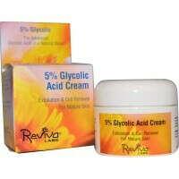 Reviva Labs, 5% Glycolic Acid Cream, 1.5 oz (42 g)
