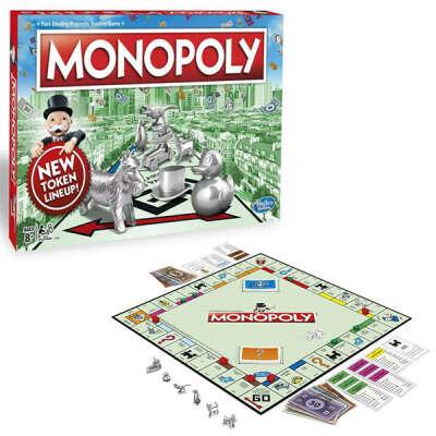 Купить Hasbro Monopoly C1009 Классическая Монополия Обновленная в интернет-магазине Toy.ru