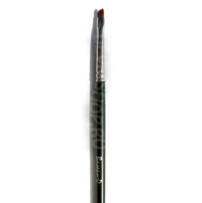 Кисть для подводки глаз Валери-Д из волоса колонка №3 со скосом