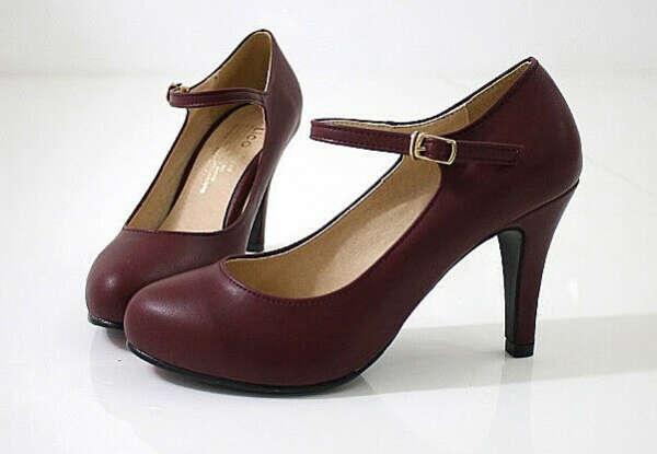 Туфли в стиле Mary Jane