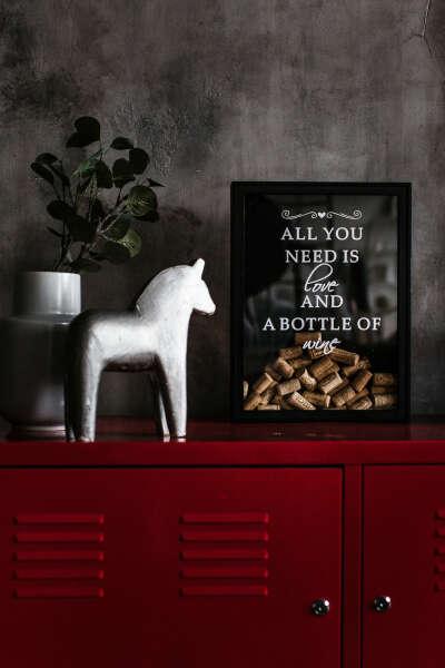 Копилка для винных пробок,30х40 см