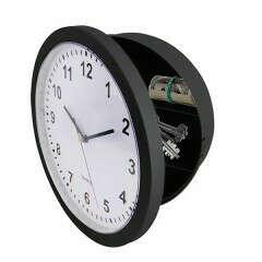 Часы-сейф на замке