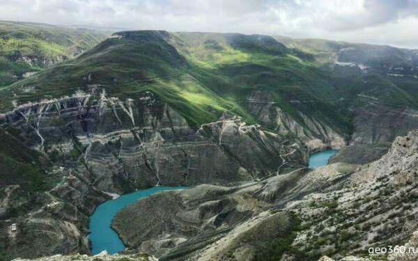 Сулакский каньон (Дагестан)