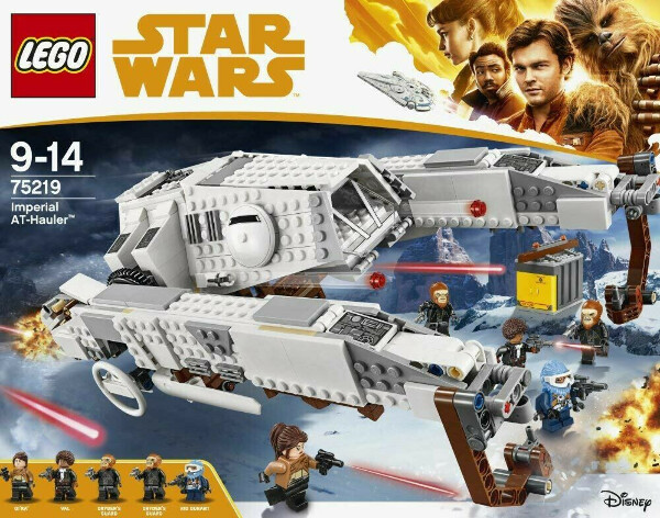 LEGO Star Wars Конструктор Имперский шагоход-тягач 75219
