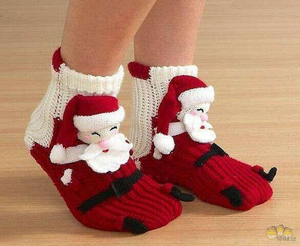 Новогодние носочки *о*