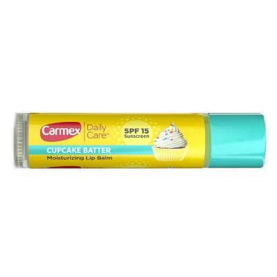 Carmex Cupcake Batter Moisturizing Lip Balm