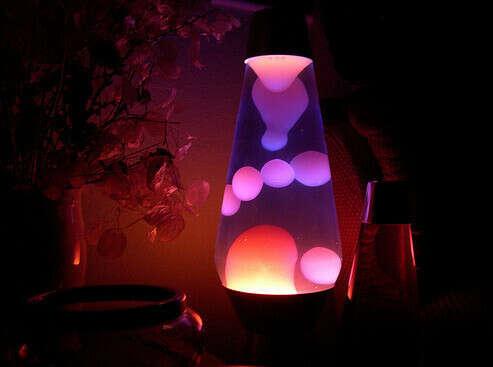 Лавовую лампу