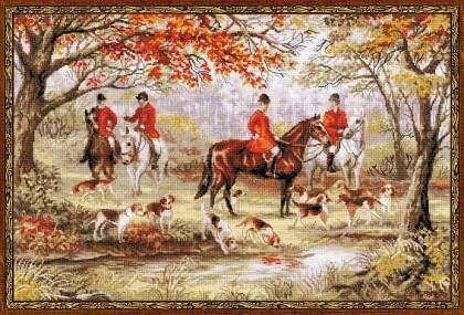 1431 Охота на лис
