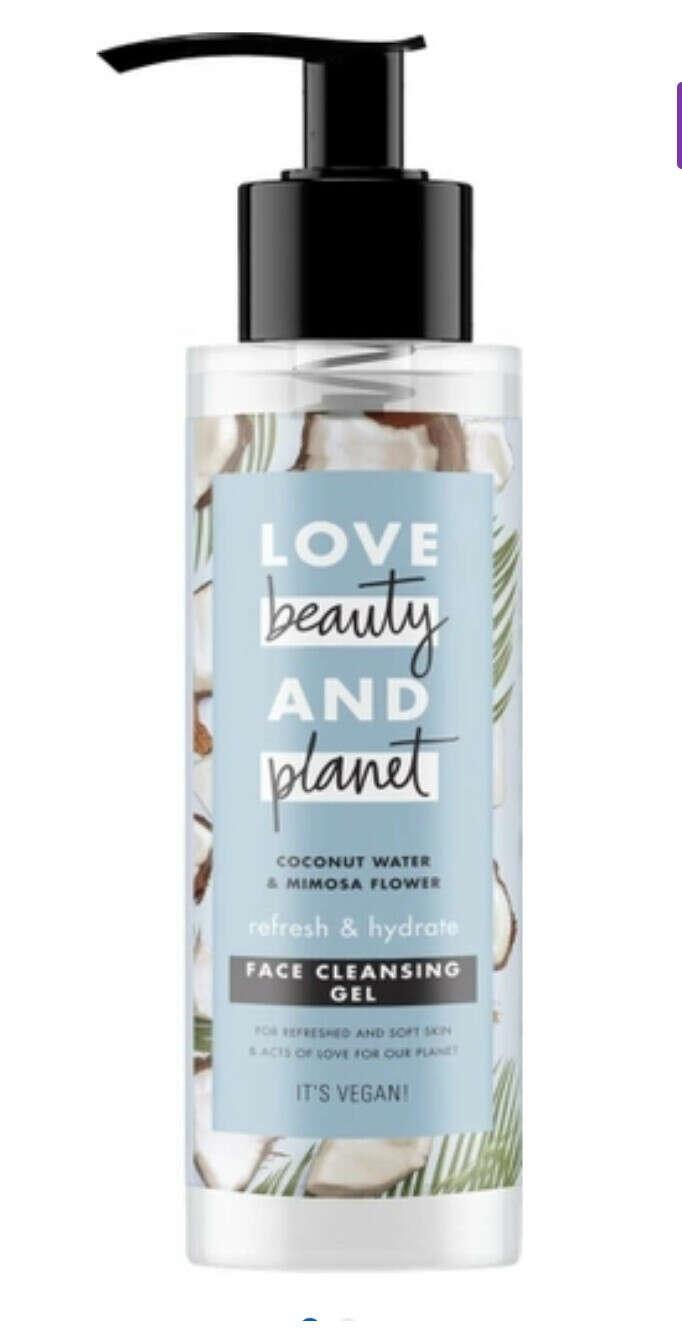 """Гель для умывания Love Beauty&Planet """"Свежесть и увлажнение"""", с кокосовой водой и мимозой"""