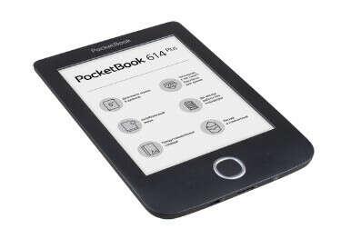 КупитьЭлектронная книга PocketBook 614 Plusпо выгодной цене на Яндекс.Маркете
