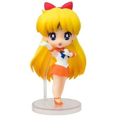 Tamashi nations Sailor Moon Sailor Venus Figuarts Mini 9 cm Многоцветный, Techinn