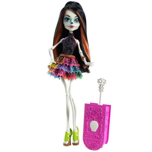 Mattel Monster High серия Путешествие Скелита Калаверас