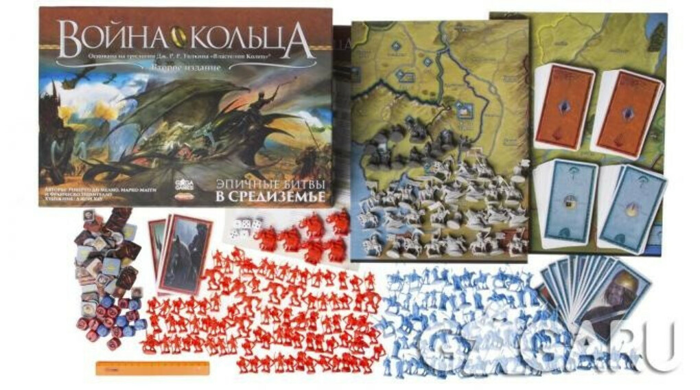 Настольная игра Война Кольца (War of the Ring. Second Edition)