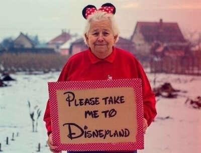 попасть в Disneyland