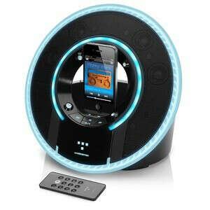 Оригинальная акустическая система для iPod и iPhone Monster Tron Light Disc Audio Dock