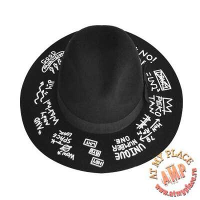 Черная шляпа Unique