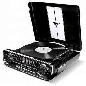Виниловый проигрыватель ION Audio Mustang LP Black