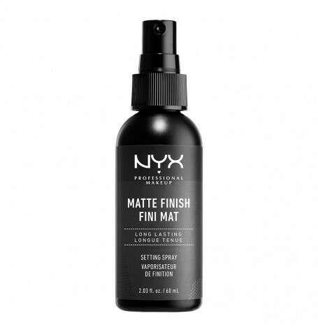 Спрей-фиксатор макияжа.             MAKE UP SETTING SPRAY - MATTE 01