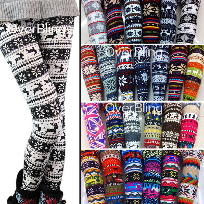 2013 New Fashion Warm Girl Lady Women's Colorful Print Leggings Pencil Leggings Sexy Pants-in Socks & Hosiery from Apparel & Accessories on Aliexpress.com
