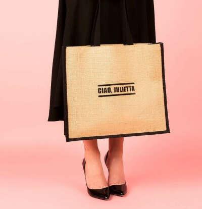 Сумка-шоппер с именной вышивкой