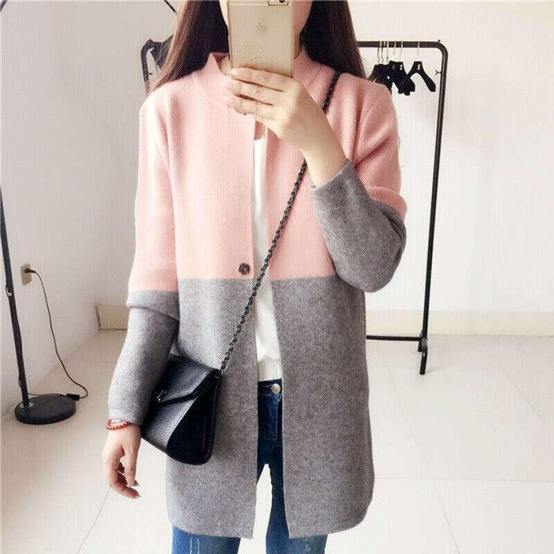 Двухцветное пальто