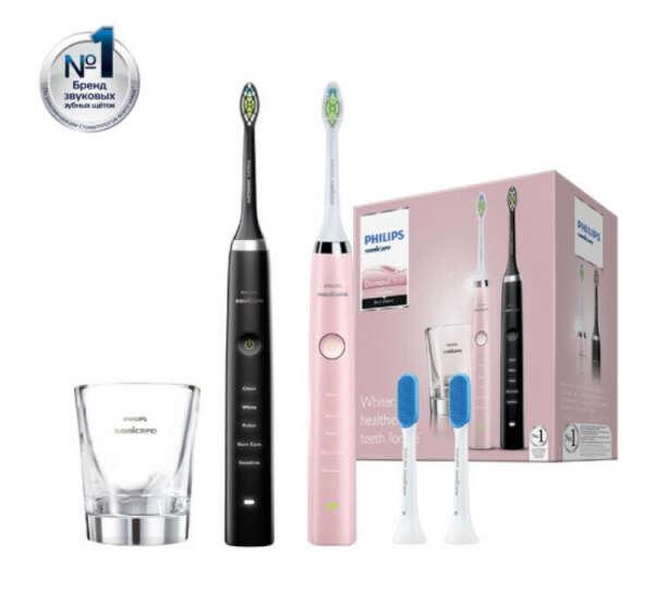Набор электрических зубных щеток Philips HX9368/35 Sonicare DiamondClean