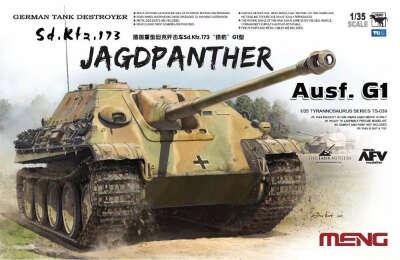 Meng Model TS039 German Tank Destroyer Sd.Kfz.173 Jagdpanther Ausf.G1