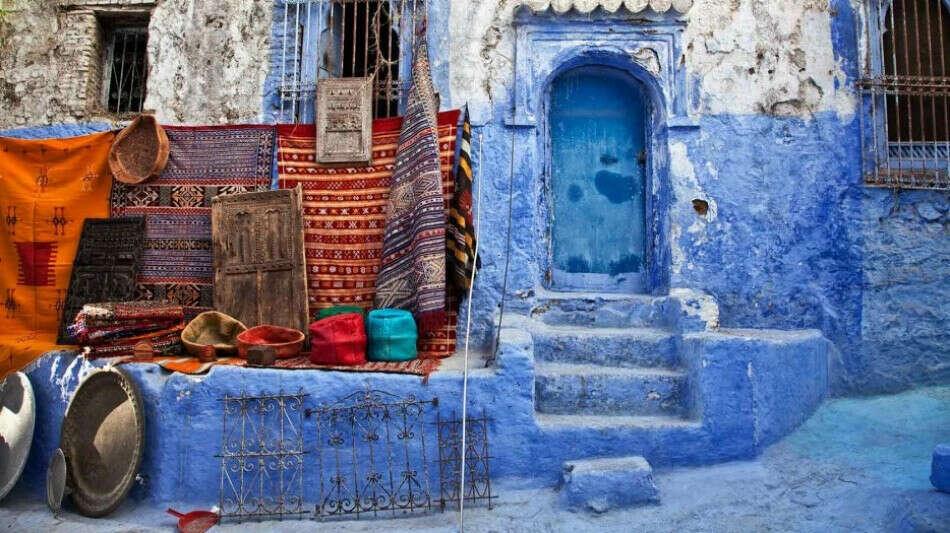Побывать в Шефшауэн, Марокко