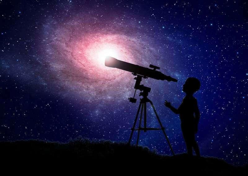 Посмотреть на звёзды в телескоп