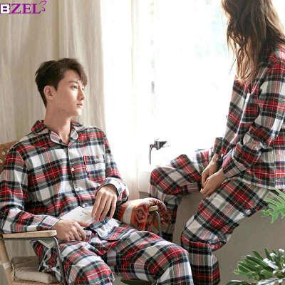 Фланелевая пижама в клетку