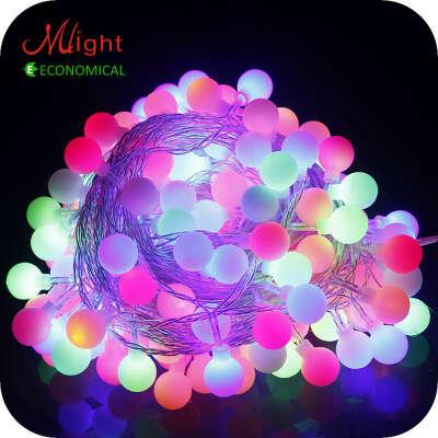 32 из светодиодов 5 м лампы из светодиодов строка водонепроницаемые AC 220 В праздничное оформление новый год хэллоуин рождественских декоративных из светодиодов свет строкикупить в магазине Mlight AE1наAliExpress