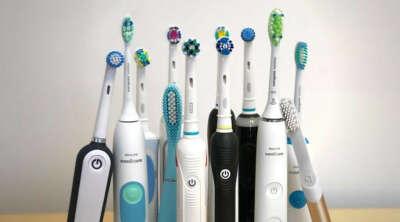 Электрическая зубная щётка