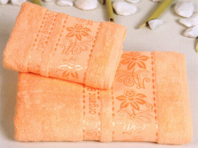 100% бамбуковое махровое банное полотенце
