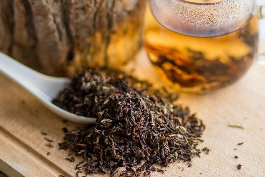 Чай (особенно дарджилинг/пуэр/улун)